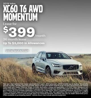 2019 Volvo XC60 T6 AWD Momentum