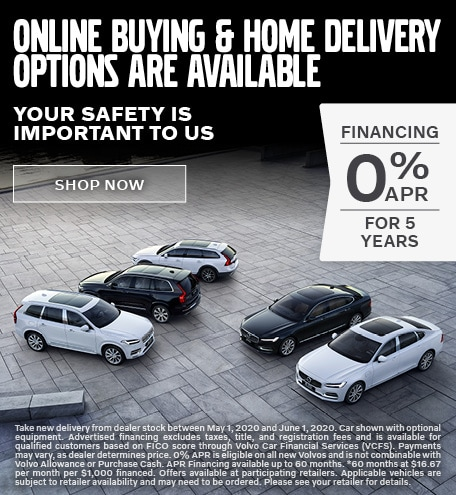 Online Buying & Home Delivery Options Are Available!
