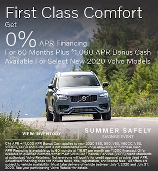 First Class Comfort - 0% APR Financing