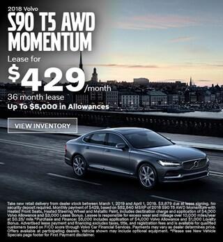 New 2019 Volvo S90