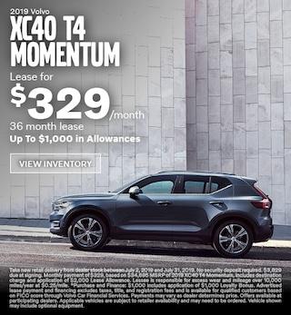 New 2019 Volvo XC40 T4 Momentum