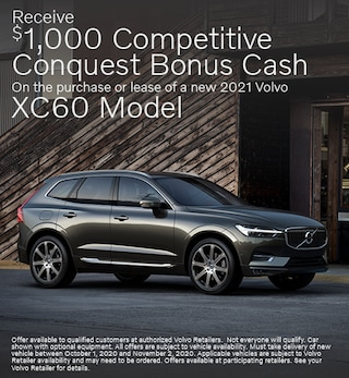 New 2021 Volvo XC60 Conquest Bonus