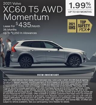 2021 Volvo XC60 T5 AWD Momentum