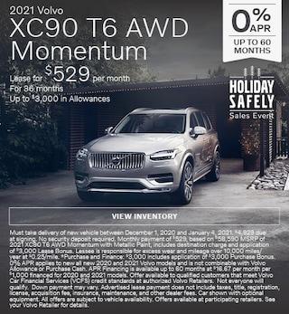 New 2021 Volvo XC90 T6 AWD Momentum