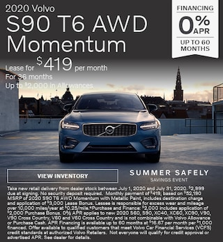 New 2020 Volvo S90 T6 AWD Momentum