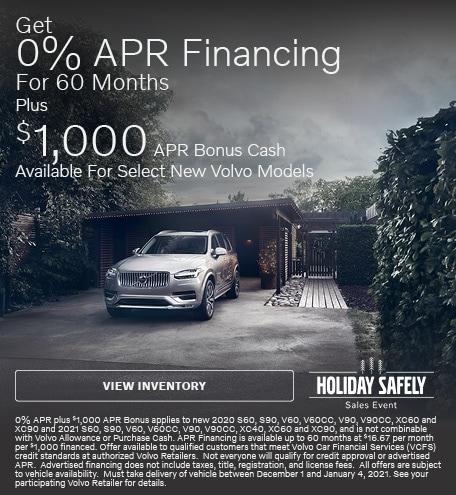 Get 0% APR Financing 60 Months Plus $1k APR Bonus Cash
