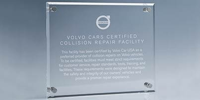 Crown Collision Center partnership at Crown Volvo Cars
