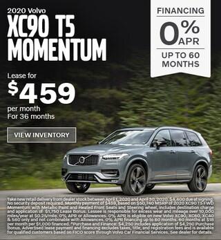 New 2020 Volvo XC90 T5 Momentum