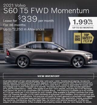 2021 Volvo S60 T5 FWD Momentum