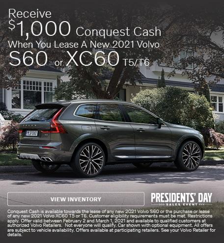 Receive $1,000 Conquest Cash