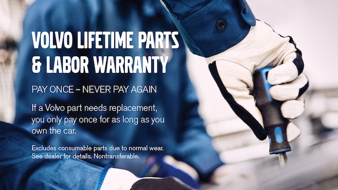 Volvo Parts Lifetime Warranty