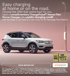 Easy charging at home or on the road - XC40 Recharge