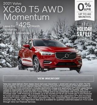 New 2021 Volvo XC60 T5 AWD Momentum