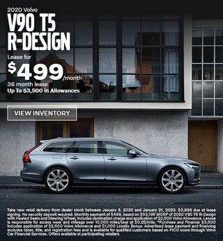 New 2020 Volvo V90 T5 R-Design