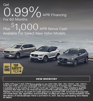 Get 0.99% APR Financing For 60 Months