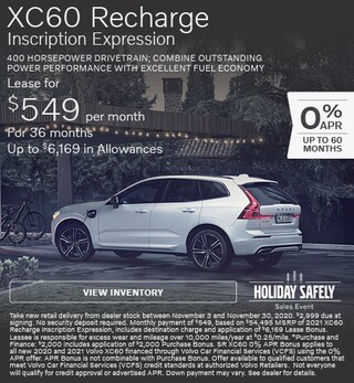 New 2021 Volvo XC60 Recharge Inscription Expression