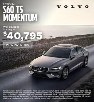 New 2019 Volvo S60