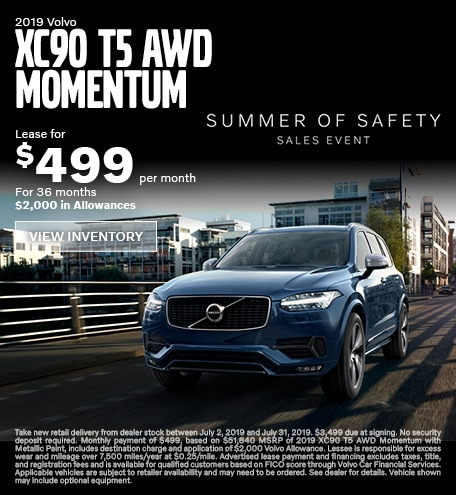 2019 Volvo XC90 T5 AWD Momentum