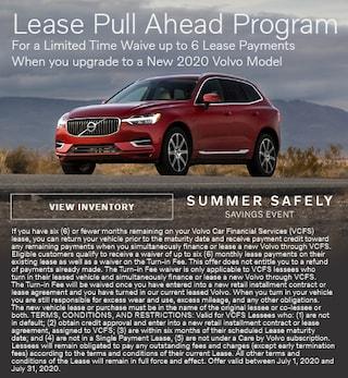 Lease Pull Ahead Program