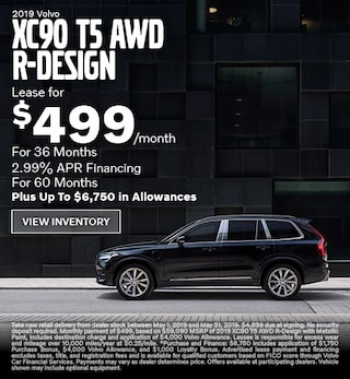 New 2019 Volvo XC90 T5 AWD R-Design