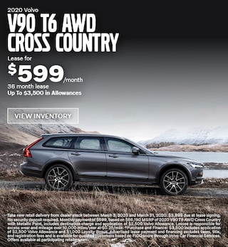 New 2020 Volvo V90 T6 AWD Cross Country