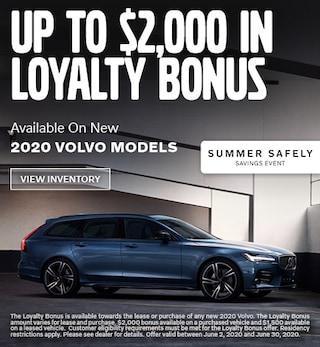 Up To $2,000 in Loyalty Bonus