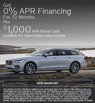 Get 0% APR Financing For 72 Months On Select Volvo Models
