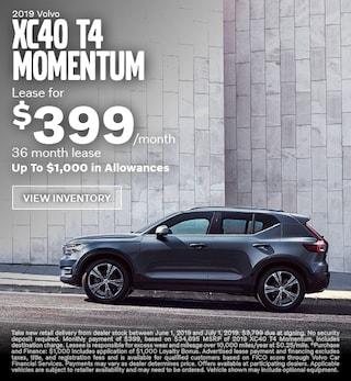 2019 Volvo XC40 T4 Momentum