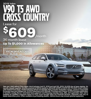 2019 Volvo V90 T5 AWD Cross Country