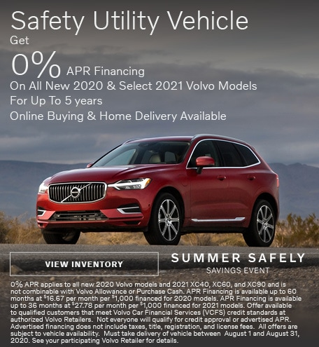 Safety Utility Vehicle - 0% APR Financing