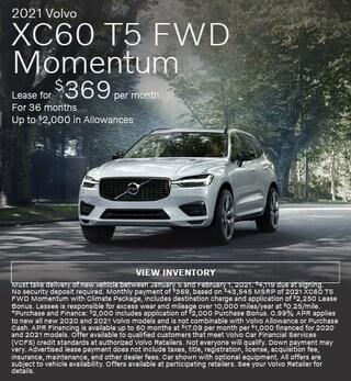 New 2021 Volvo XC60 T5 FWD Momentum