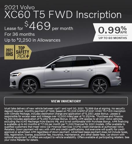 2021 Volvo XC60 T5 FWD Inscription