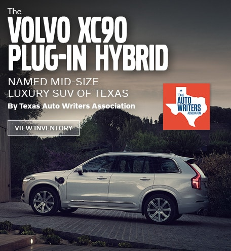 The Volvo XC90 Named Mid-Size Luxury SUV Of Texas