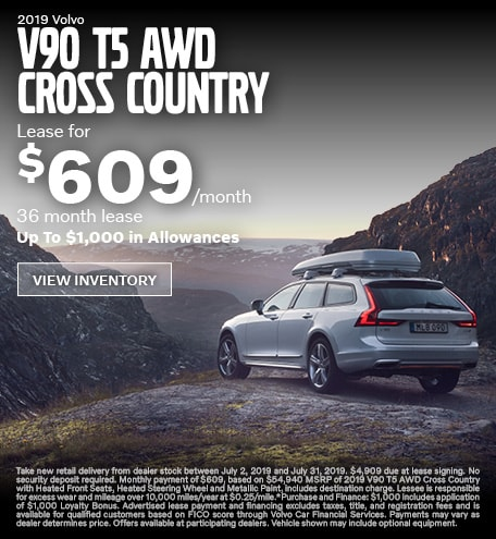 New 2019 Volvo T5 AWD Cross Country