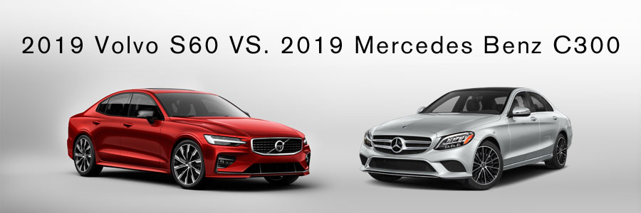 Volvo S60 vs Mercedes C300