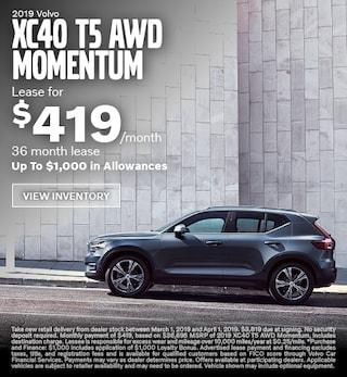 New 2019 Volvo XC40