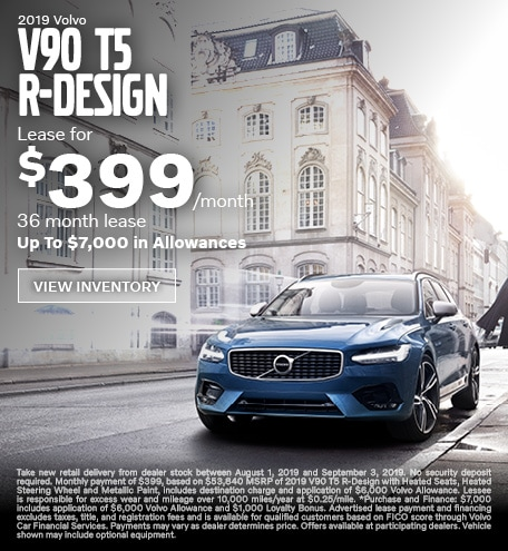 New 2019 Volvo V90 T5 R-Design