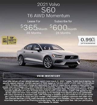 2021 Volvo S60 T6 AWD Momentum