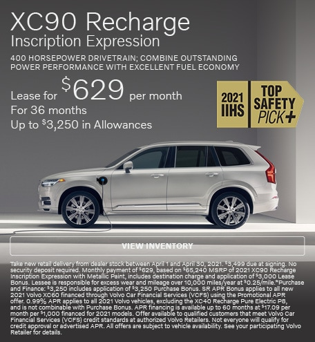 XC90 Recharge Inscription Expression