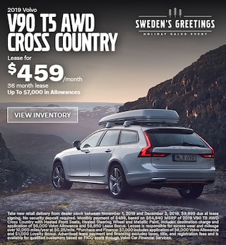 New 2019 Volvo V90 T5 AWD Cross Country