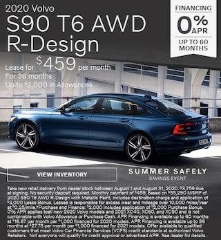 New 2020 Volvo S90 T6 AWD R-Design