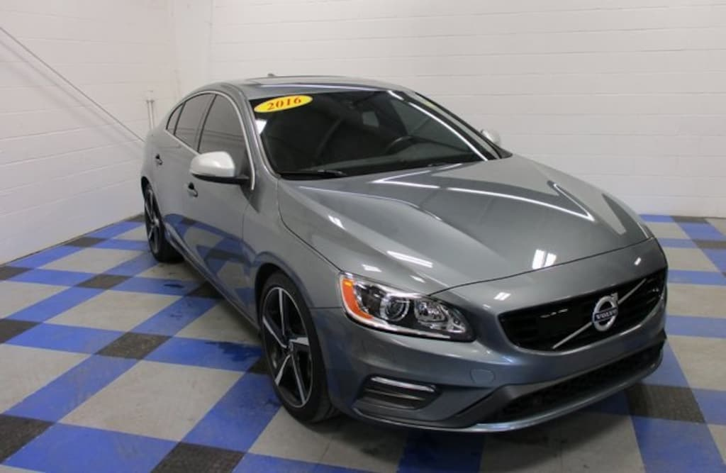 2016 Used Volvo S60 T6 R Design Platinum For Sale In Peoria Il