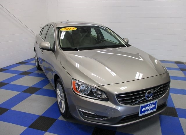 Pre-Owned Featured 2014 Volvo S60 T5 Sedan for sale in Peoria, IL