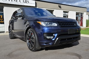 2016 Land Rover Range Rover Sport AUTOBIOGRAPHY, LOADED