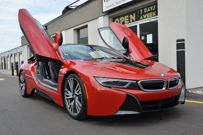 2017 BMW i8 Protronic Red Edition Coupe
