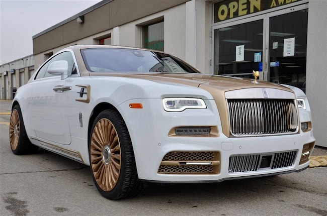 2017 Rolls-Royce Wraith MANSORY, OVER $600K MSRP Coupe