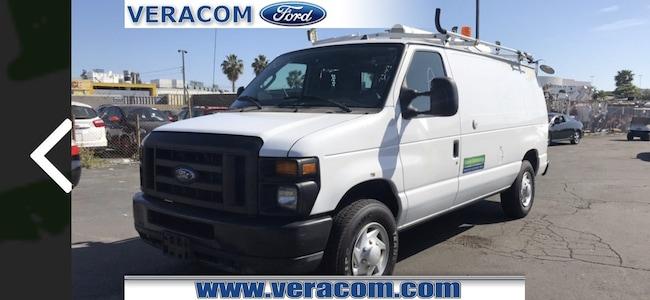 Used 2011 Ford Econoline Cargo Van Cert Natural Gas E-250 Commercial San Mateo, California