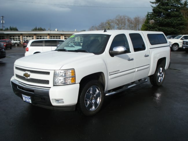 Used 2011 Chevrolet Silverado 1500 LT Truck Crew Cab For Sale Coos Bay, OR