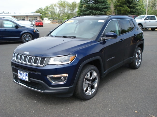 New 2018 Jeep Compass LIMITED 4X4 Sport Utility For Sale/Lease Coos Bay, OR