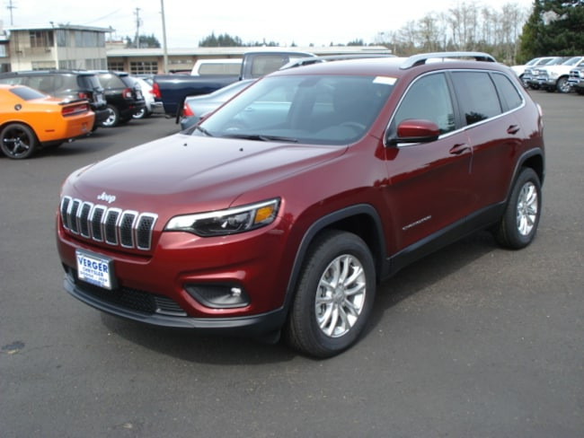 New 2019 Jeep Cherokee LATITUDE 4X4 Sport Utility For Sale/Lease Coos Bay, OR